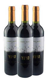 KIT YUYO BONARDA MALBEC 3 GRFS 750ML