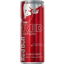 Energético Red bull red editcramberry 250 ML