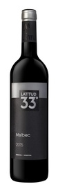 Latitud 33 Malbec 750ml.