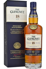W Glenlivet Single Malt 18a 750ml
