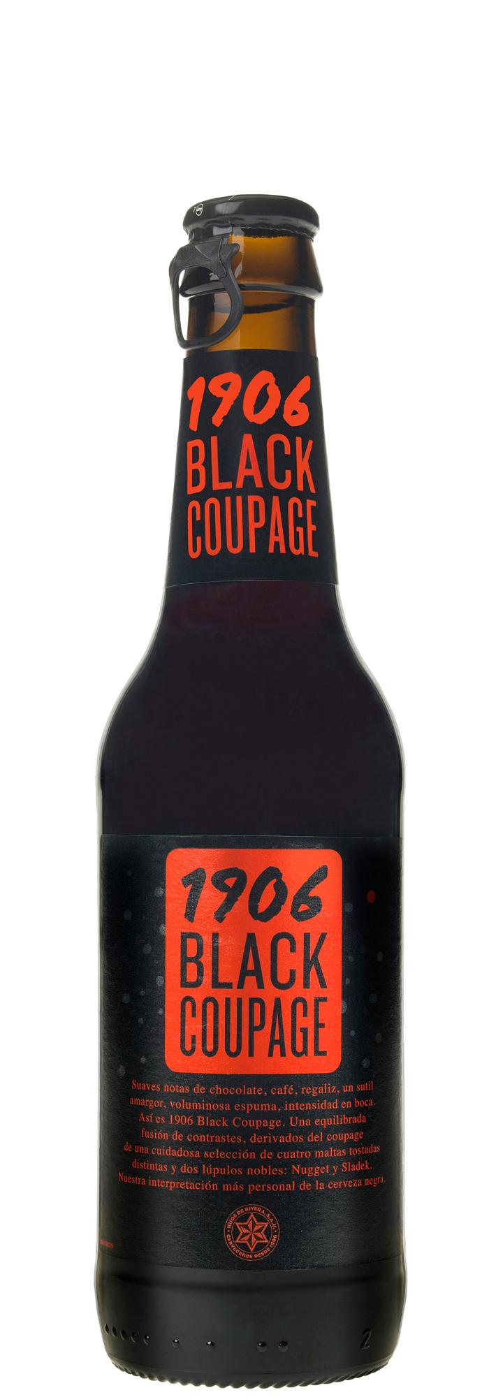 cerveja 1906 black coupage 330ml museu da gula